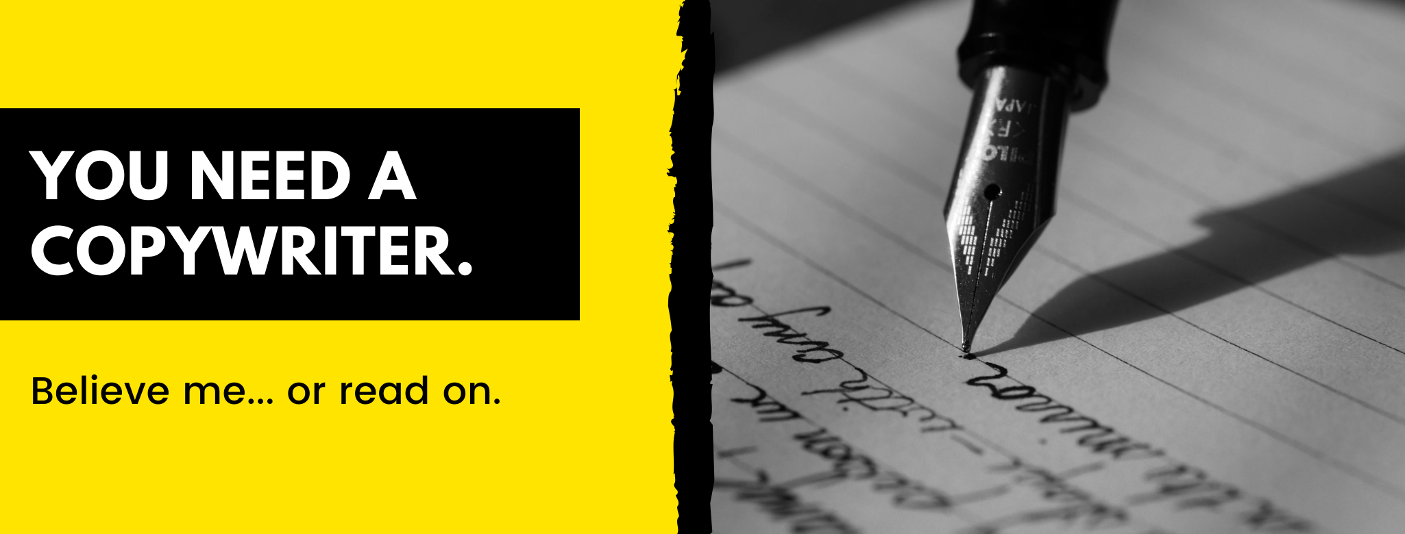 5 persuasive reasons why every small business should hire a copywriter—and where to find one.