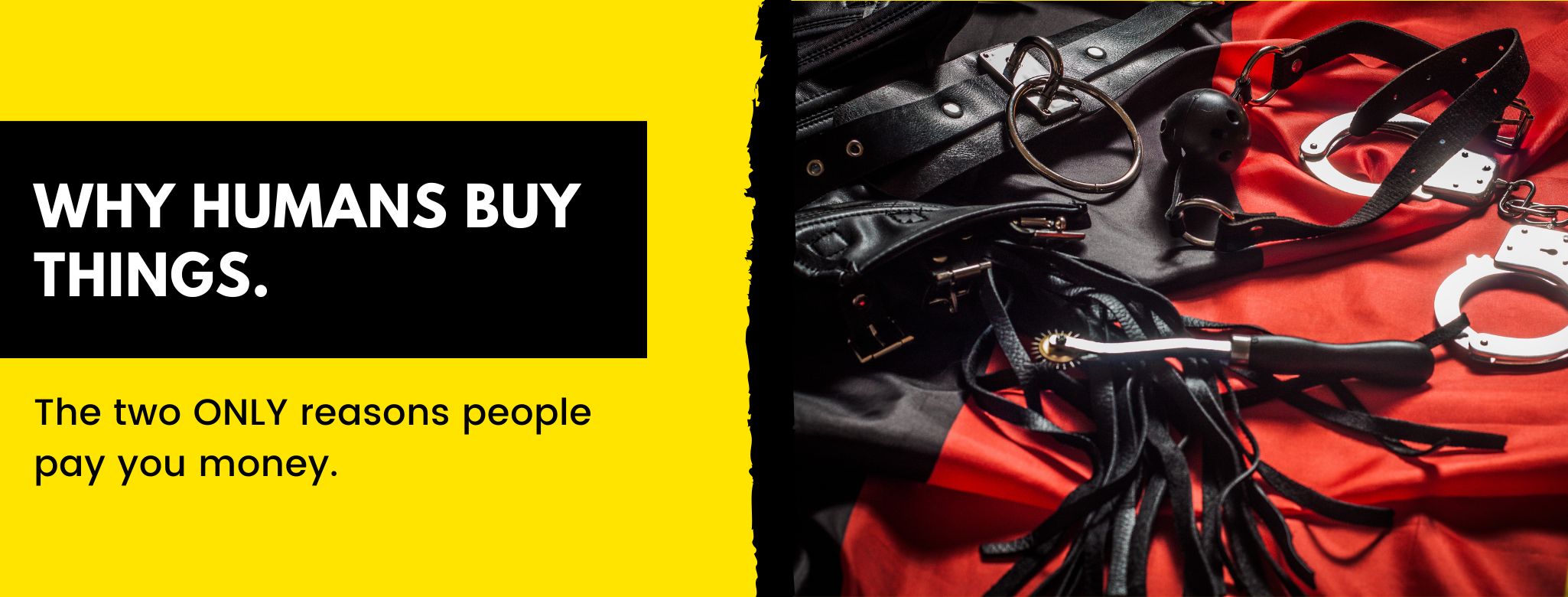 What makes humans buy?